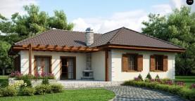 Добротный практичный одноэтажный дом с возможностью обустройства мансарды.