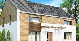 Одна из версий проекта компактного двухэтажного дома zx11