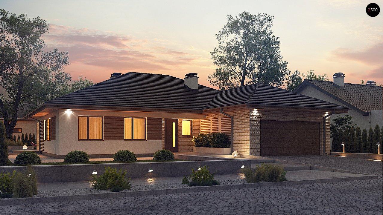 вот само одноэтажный дом с гаражом картинки китена представлены этой