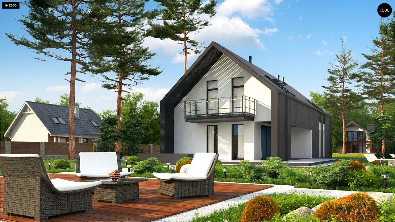 вкусный проекты современных домов с мансардой фото можете